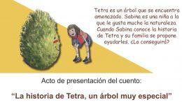 """Presentación de libro """"La historia de Tetra, un árbol muy especial"""""""